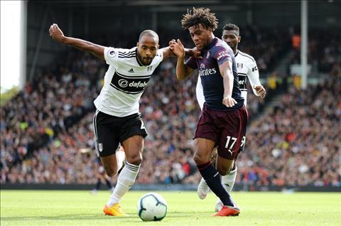 Alex Iwobi phát biểu sau trận Fulham 1-5 Arsenal hình ảnh