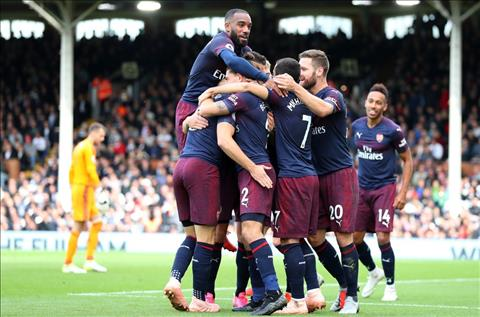 Fulham 1-5 Arsenal Các Gunners đã có ngày mở mặt hình ảnh