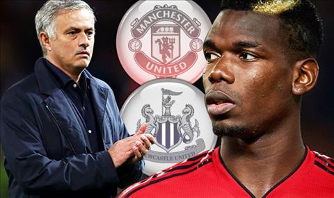 Nhung nghi hoac ve moi quan he giua Pogba va Mourinho duoc dat ra truoc tran dau giua Man Utd vs Newcastle.