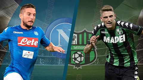 Nhận định Napoli vs Sassuolo 23h00 ngày 710 Serie A 201819 hình ảnh