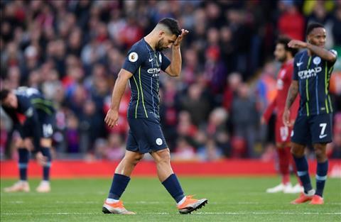 Liverpool 0-0 Man City Trăm sự tại Aguero! hình ảnh
