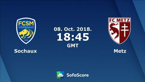 Sochaux vs Metz 01h45 ngày 910 (Hạng 2 Pháp 201819) hình ảnh