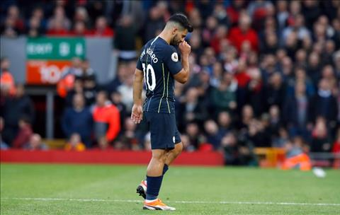 Aguero tiep tuc gay that vong o Anfield