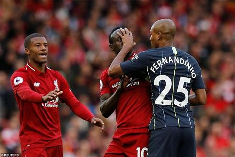 Mane vs Fernandinho