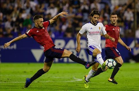 Zaragoza vs Osasuna 02h00 ngày 910 (Hạng 2 TBN 201819) hình ảnh