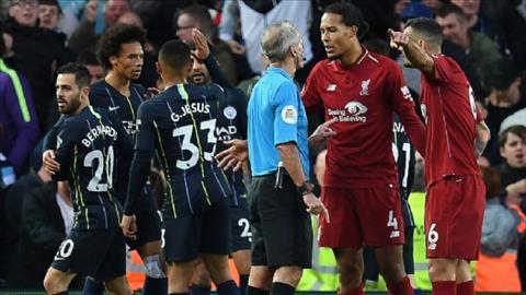 Trung vệ Van Dijk phát biểu trận Liverpool vs Man City hình ảnh