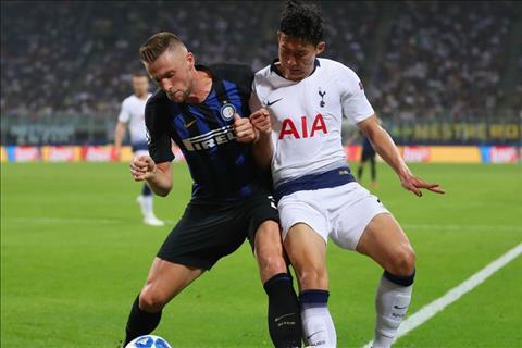 Skriniar tai Inter vs Tottenham