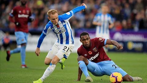 Video bàn thắng Huddersfield vs West Ham 1-1 Premier League 2018 hình ảnh