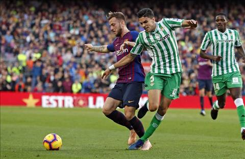 Barca vs Betis Rakitic