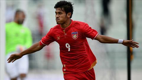 Tien dao Aung Thu gop mat trong danh sach DT Myanmar tham du AFF Cup 2018