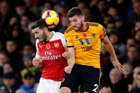 Video tong hop: Arsenal 1-1 Wolves (Vong 12 Premier League 2018/19)