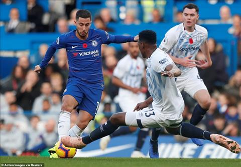 Eden Hazard Chelsea vs Everton