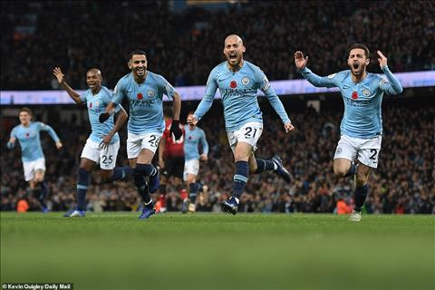HLV Pep Guardiola phat bieu tran Man City 3-1 MU David Silva