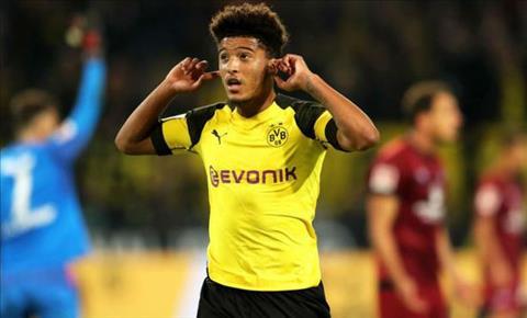 Juventus muốn mua Jadon Sancho của Dortmund hình ảnh