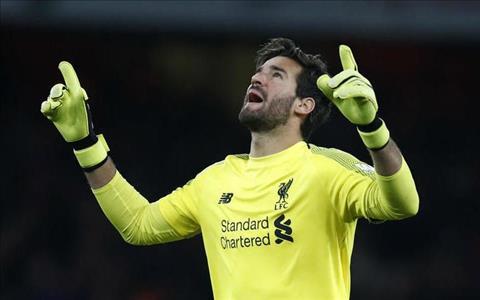 Thủ môn Alisson phát biểu về phong độ tại Liverpool hình ảnh