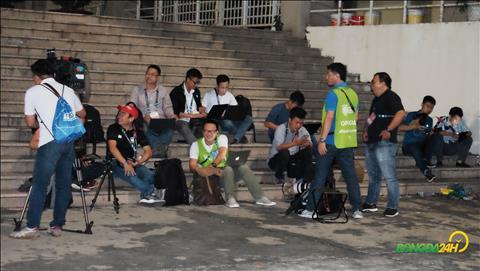 Hình ảnh công tác chuẩn bị trước trận đấu ĐT Việt Nam vs Malaysia hình ảnh
