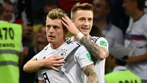 Marco Reus và Toni Kroos vắng mặt ở trận Đức vs Nga hình ảnh