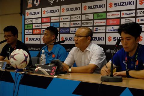 HLV Park Hang Seo hài lòng sau chiến thắng trước ĐT Malaysia hình ảnh