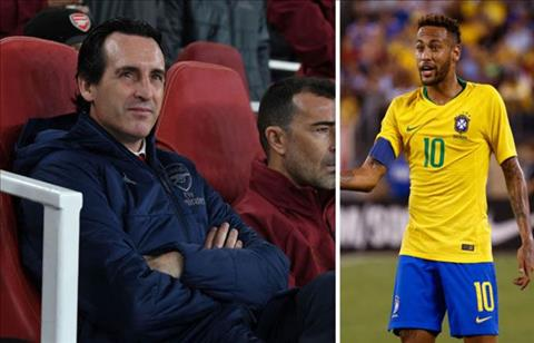 Neymar ca ngợi Unai Emery và Arsenal hình ảnh