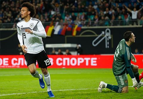 Kết quả Đức vs Nga bóng đá Giao hữu quốc tế 2018 rạng sáng nay hình ảnh