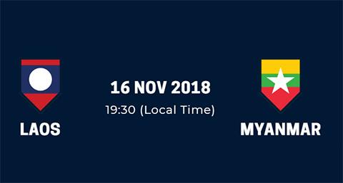 Link xem trực tiếp Lào vs Myanmar Bảng A AFF Suzuki Cup 2018 hình ảnh