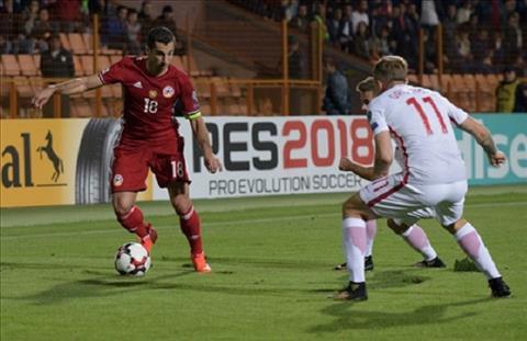 Gibraltar vs Armenia 02h45 ngày 1711 (UEFA Nations League 201819) hình ảnh