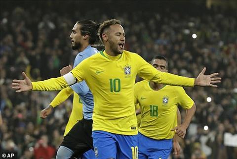 Neymar lập kỷ lục tốp 10 khoác áo trên ĐT Brazil hình ảnh