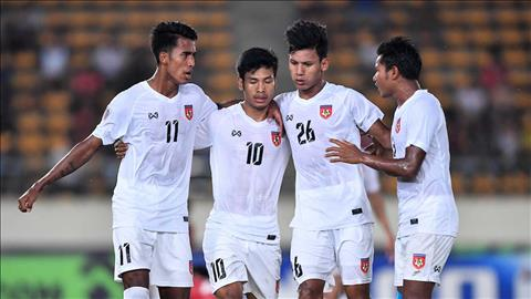 Burmese self-confident message before playing on Vietnam