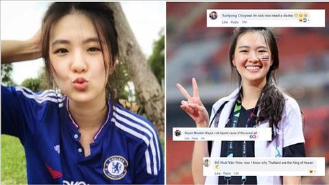 Bác sĩ tuyển Thái Lan gây bão vì xinh đẹp hình ảnh