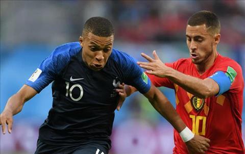 Eden Hazard ủng hộ Kylian Mbappe giành Quả bóng vàng 2018 hình ảnh