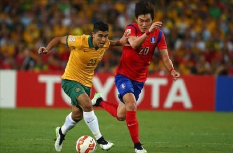 Australia vs Hàn Quốc 15h50 ngày 1711 (Giao hữu quốc tế) hình ảnh