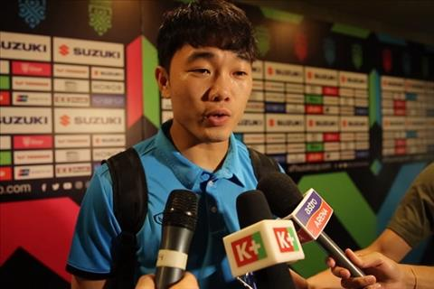 Luong Xuan Truong shared after the Malaysian victory