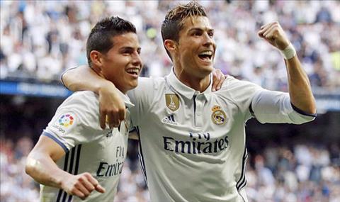 Ronaldo muon Juventus mua James Rodriguez
