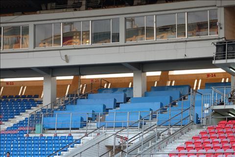 Hình ảnh của Thuwunna Stadium trước trận Myanmar vs Việt Nam hình ảnh