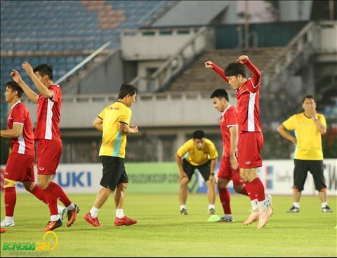 Theo du bao, thoi tiet o Yangon khi tran dau giua Myanmar vs Viet Nam dien ra se khong co mua, troi mat.