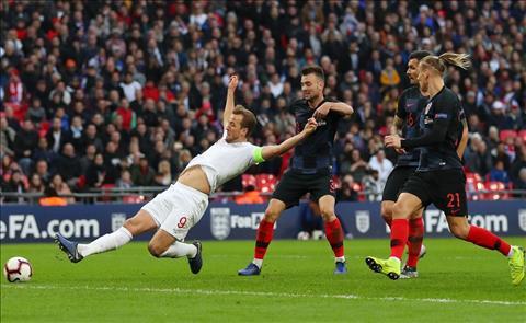 Kane ghi ban cho Anh