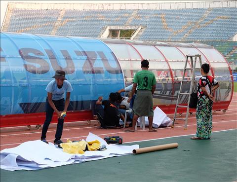 Thuwunna Stadium - SVĐ quốc gia Myanmar trông như thế nào hình ảnh 2