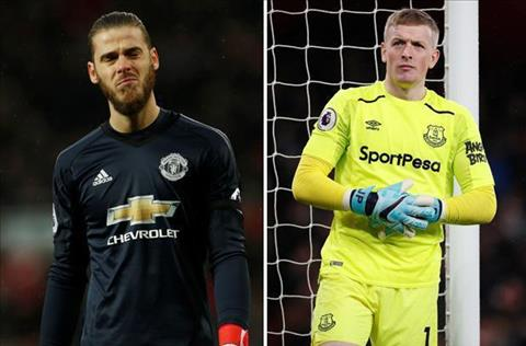 Pickford va David De Gea