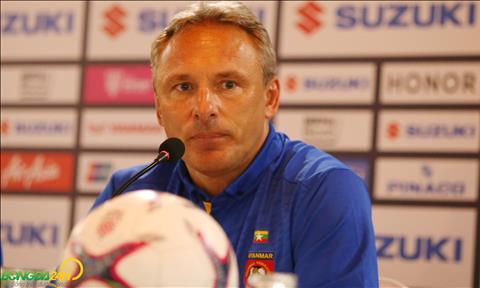 HLV Myanmar phát ngôn tiền hậu bất nhất ở trận gặp Malaysia hình ảnh