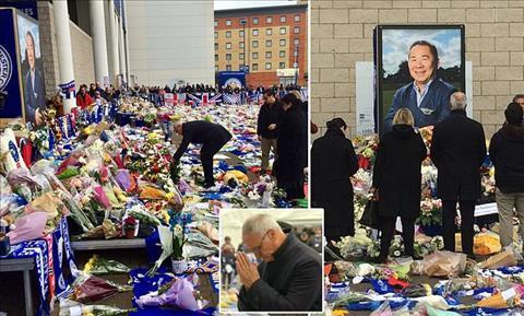 HLV Ranieri tưởng nhớ cố chủ tịch Leicester qua đời vì tai nạn hình ảnh