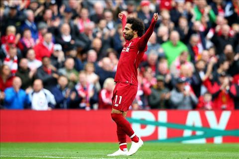 Salah toa sang tro lai o Liverpool