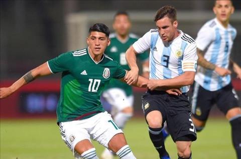 Argentina 2-0 Mexico