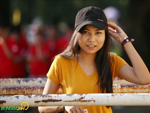 Ve dep khoe khan cua mot CDV nu tran Myanmar vs Viet Nam.
