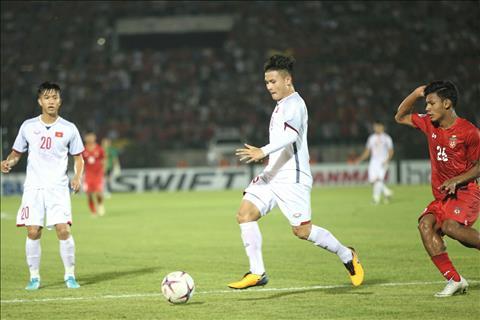 Myanmar 0-0 Việt Nam (KT) Hòa trên thế thắng, thầy trò HLV Park Hang Seo tiến sát bán kết AFF Cup 2018 hình ảnh 4