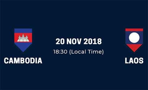 Link xem trực tiếp Campuchia vs Lào bảng A AFF Suzuki Cup 2018 hình ảnh