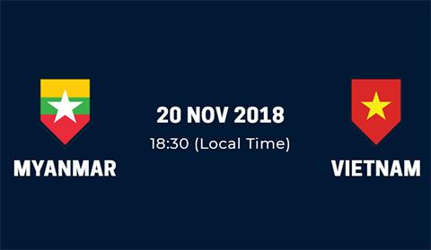 Link xem trực tiếp Việt Nam vs Myanmar AFF Suzuki Cup 2018 hình ảnh