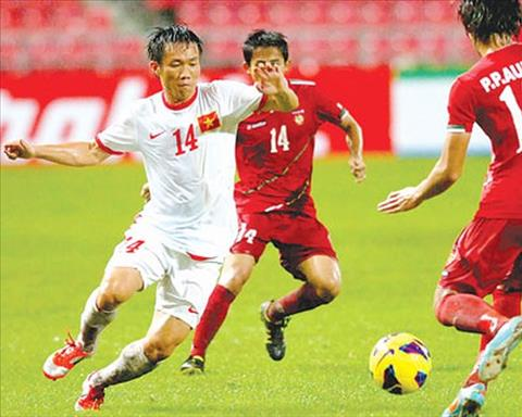Video Myanmar vs Vietnam 1-1 of A Abhir 2012 photo group