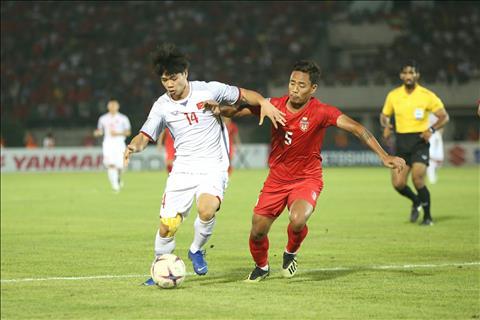 Nhung diem nhan dang chu y sau tran Myanmar 0-0 Viet Nam