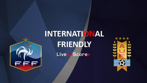 TRUC TIEP Phap vs Uruguay 3h00 ngay 21/11 (Giao huu quoc te)