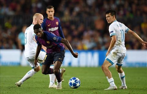 Không có chuyện Ousmane Dembele rời Barca vào tháng 1 năm 2019 hình ảnh